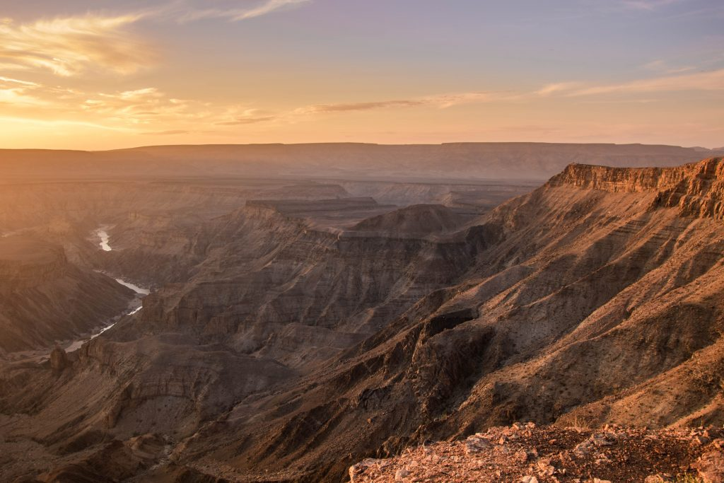 Fish river Canyon beautiful Namibia
