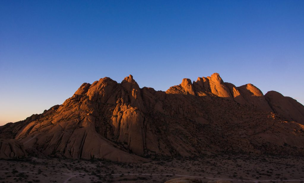 Spitzkoppe sunset places to visit in Namibia