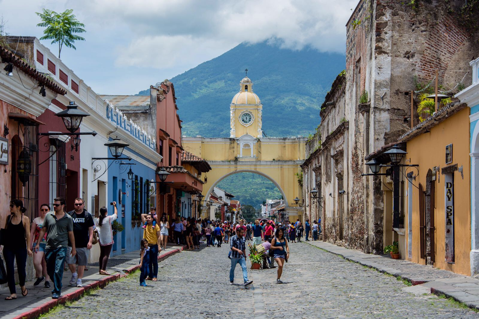 arco de catalina Antigua Guatemala
