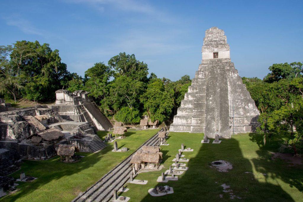 Maya city Tikal