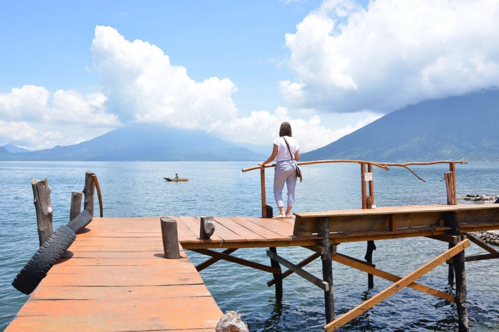 hostel del Lago view lake atitlan