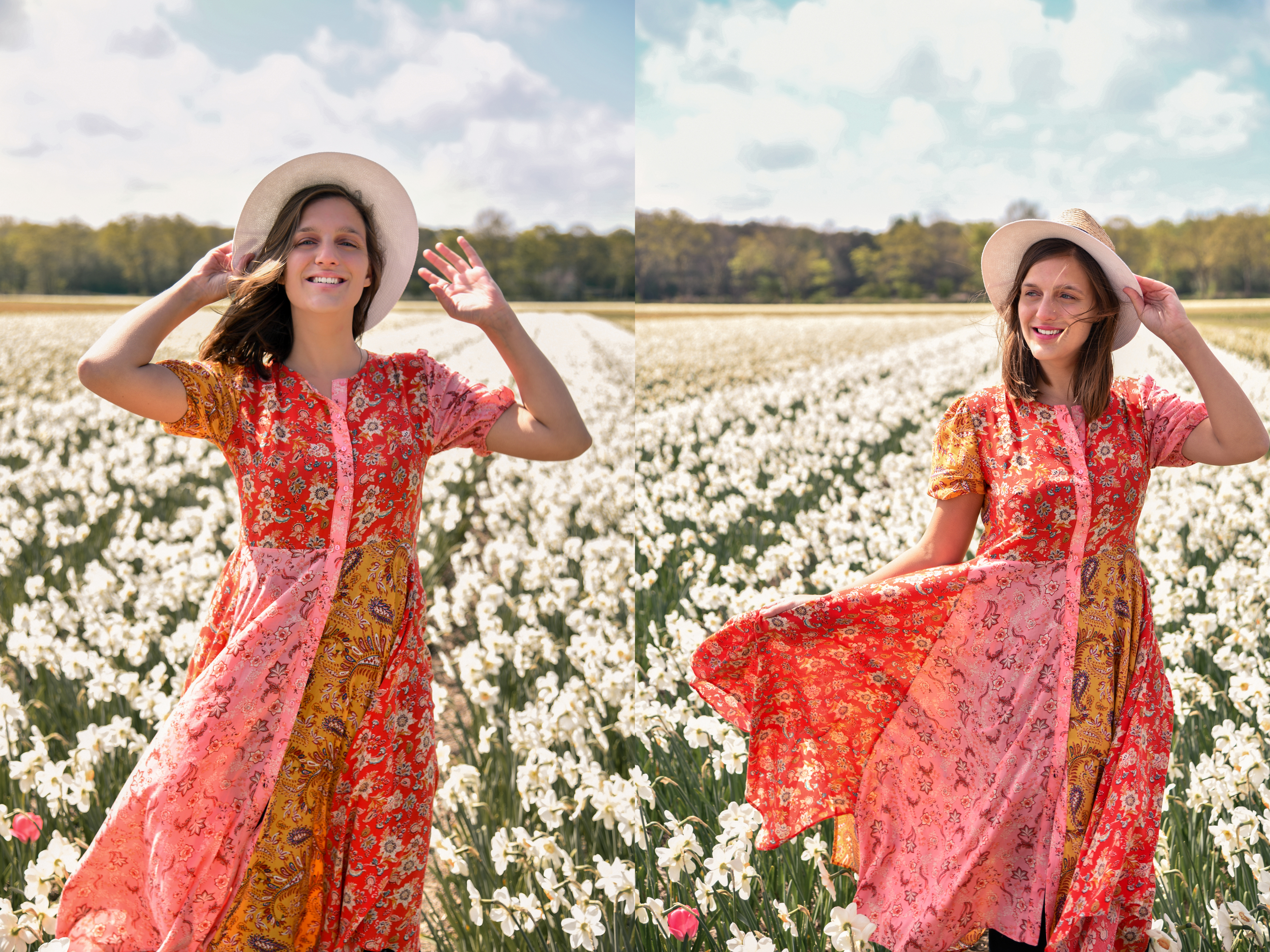 tulip field photoshoot Lisse