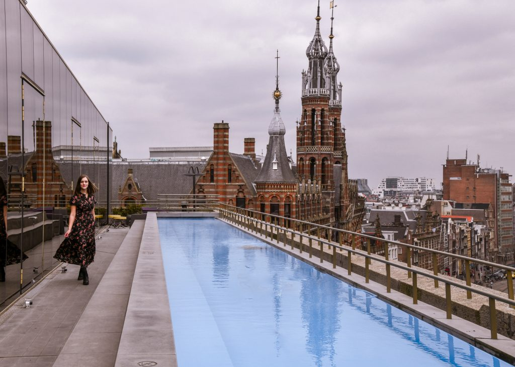 W hotel rooftop amsterdam
