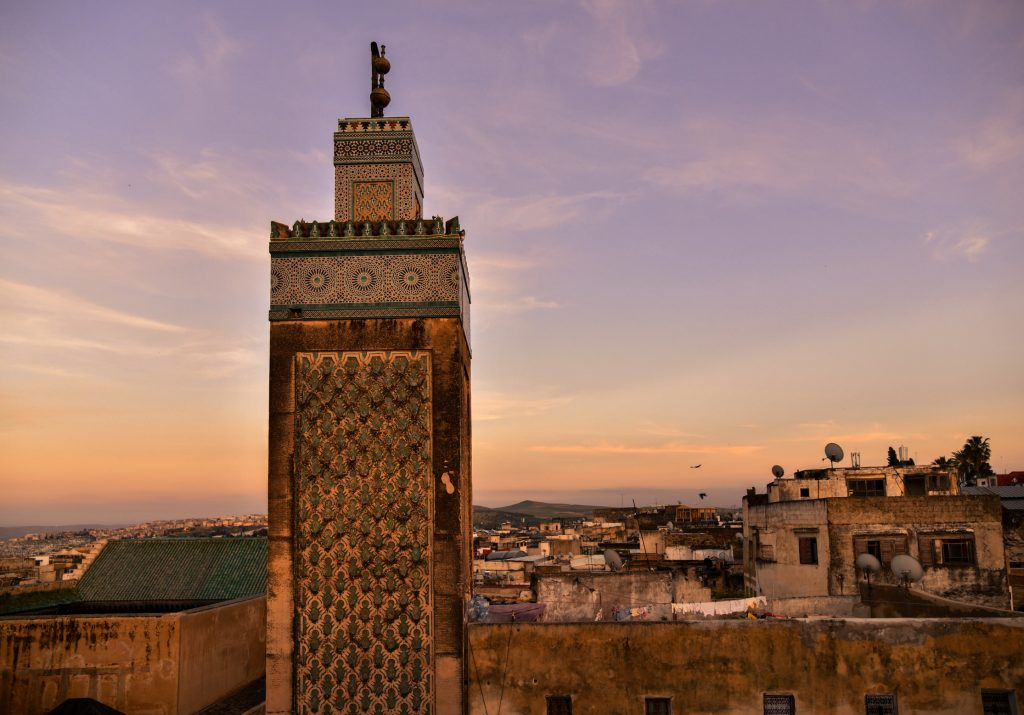 view clock cafe fez