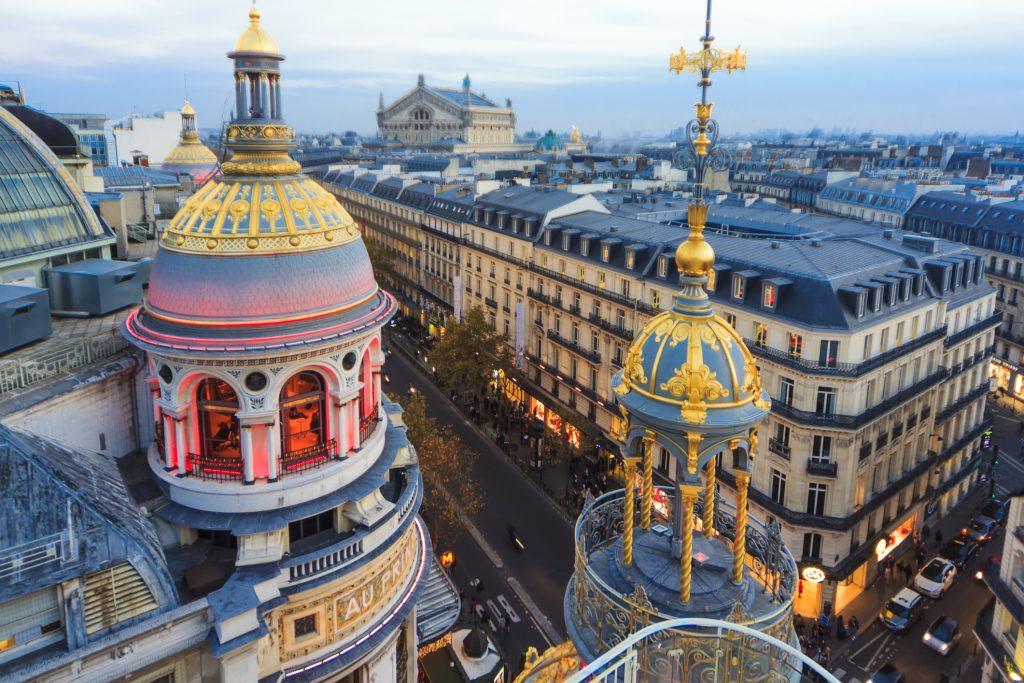 Printemps department store Paris