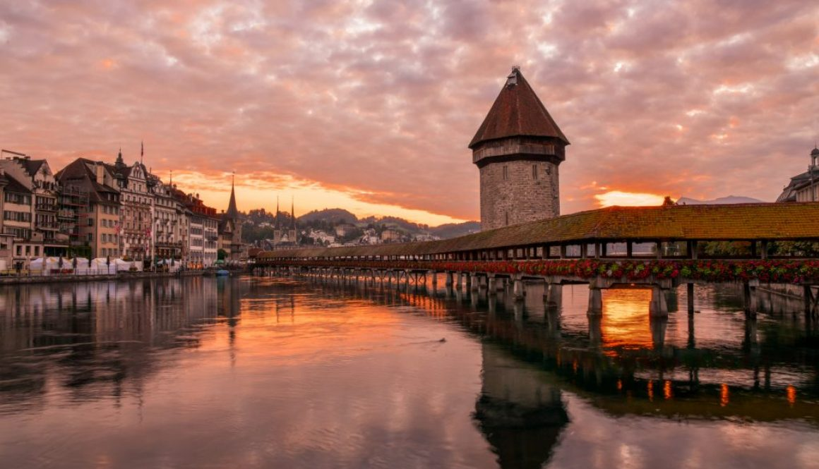 kapellbrucke Luzern lucerne chapel bridge
